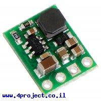 מודול ממיר מתח (מוריד) 5V/600mA - דגם D24V6F5