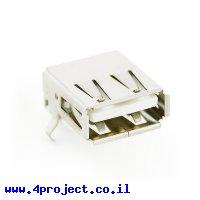 מחבר USB-A נקבה להלחמת SMD
