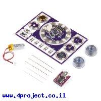 כרטיס פיתוח Arduino - ערכת התחלה ל-LilyPad בגישת ה-ProtoSnap