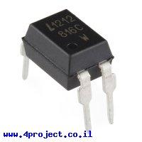 שבב בידוד אופטי LTV816C 1ch 80V/50mA