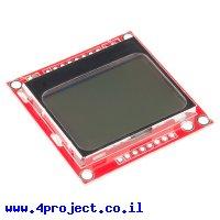 LCD גרפי של נוקיה 5110, רזולוציה 84x48