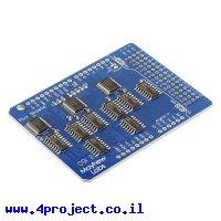 מגן Arduino - מרבב 48 כניסות/יציאות, גרסה 2
