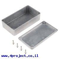 """קופסת פרוייקט מאלומיניום בינונית - 112x60x31 מ""""מ"""