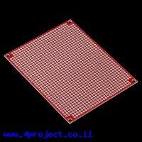 """לוח הלחמה PTH מלבן 100x80 מ""""מ"""