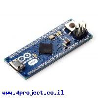 כרטיס פיתוח Arduino Micro בלי מחברים