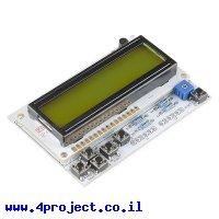 מגן Arduino - מסך LCD עם כפתורים