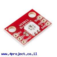 לד (RGB - SMD (WS2812 על כרטיסון
