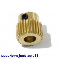גלגל שיניים לראש מדפסת תלת מימד - 26 שיניים