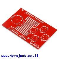 מגן Arduino Joystick - מעגל מודפס