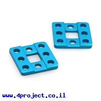 פלטה שטוחה 3x3 (מחזיק רצועת תזמון) - זוג