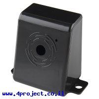 מארז פלסטיק למצלמה של Raspberry PI - שחור