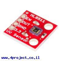 חישן אור UV אולטרה סגול - ML8511