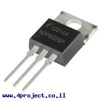 טרנזיסטור NDP6020P - P-Channel MOSFET 20V 24A עם Vgs-th נמוך