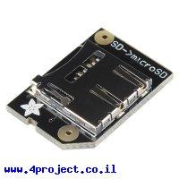כרטיסון מתאם כרטיסי זכרון SD ל-microSD