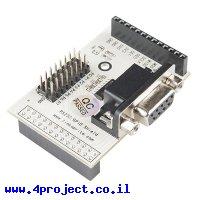 מתאם RS-232 לכרטיסי Raspberry PI