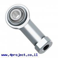 חיבור כדורי , נקבה M4, מתכת - חבילה של 2