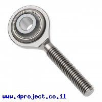 חיבור כדורי , זכר M4, מתכת - חבילה של 2