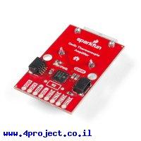 מגבר לחישני טמפרטורה K-Type - שבב MCP9600, מחברי PCC, Qwiic