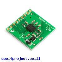 ג'ירוסקופ שני צירים +/- 500/110 מעלות/שניה IDG500