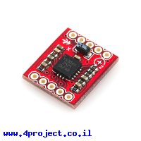 ג'ירוסקופ ציר אחד +/- 1200/300 מעלות/שניה LY530ALH - גרסה קודמת