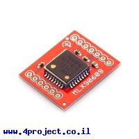 ג'ירוסקופ ציר אחד +/- 150 מעלות/שניה MLX90609