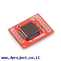 ג'ירוסקופ ציר אחד +/- 75 מעלות/שניה MLX90609