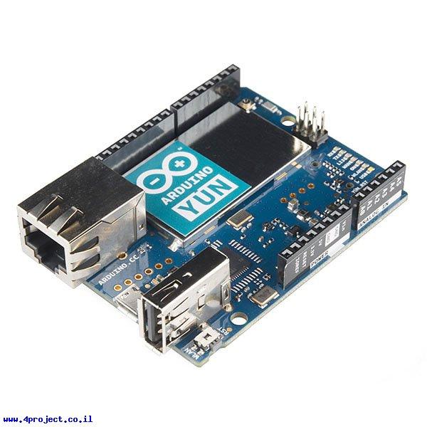 כרטיס פיתוח arduino yun רכיבי אלקטרוניקה