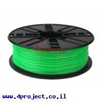 פלסטיק למדפסת 3D - ירוק בהיר - ABS 1.75mm