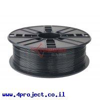 פלסטיק למדפסת 3D - שחור - PLA 1.75mm