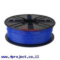פלסטיק למדפסת תלת-מימד - כחול - PLA 1.75mm