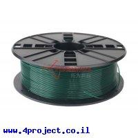 פלסטיק למדפסת תלת-מימד - ירוק כהה - PLA 1.75mm