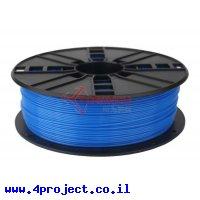 פלסטיק למדפסת תלת-מימד - כחול נאון - PLA 1.75mm
