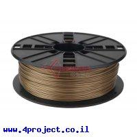 פלסטיק למדפסת 3D - זהב - PLA 1.75mm