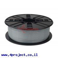פלסטיק למדפסת 3D - אפור - PLA 1.75mm