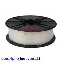 פלסטיק למדפסת תלת-מימד - טבעי - PLA 1.75mm