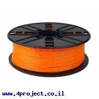 פלסטיק למדפסת 3D - כתום - PLA 1.75mm