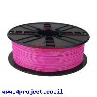 פלסטיק למדפסת 3D - ורוד - PLA 1.75mm