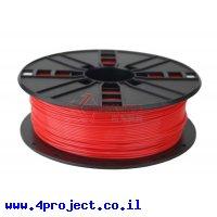 פלסטיק למדפסת 3D - אדום - PLA 1.75mm