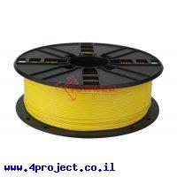 פלסטיק למדפסת תלת-מימד - צהוב - PLA 1.75mm