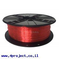 פלסטיק למדפסת 3D - אדום - PETG 1.75mm