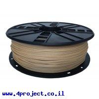 פלסטיק למדפסת 3D - עץ - Wood 1.75mm