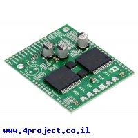 מגן Arduino - בקר לשני מנועי DC עד 24V/12A