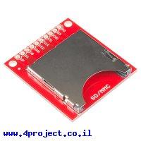 כרטיסון עם מחבר כרטיסי זכרון SD/MMC