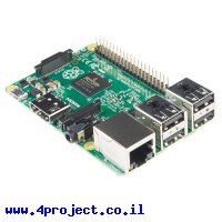 כרטיס פיתוח - Raspberry Pi 2 - דגם B