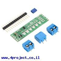 בקר מנוע DC ל-2 מנועים עד 1.2A - רכיב DRV8835 - צורת מגן Arduino
