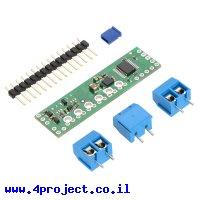 בקר מנוע DC ל-2 מנועים עד 0.65A - רכיב A4990 - צורת מגן Arduino
