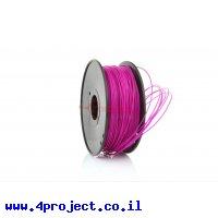 פלסטיק למדפסת 3D - סגול - ABS 1.75mm - אורך של 1 מטר