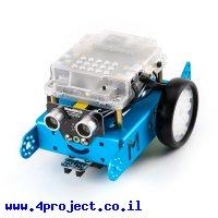 קיט רובוטיקה למתחילים - mBot v1.1 כחול - גרסת Bluetooth