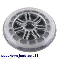 """גלגל סקייטים 124.46 מ""""מ (4.90"""") - אפור"""