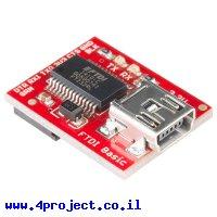 צורב Arduino - כרטיס FTDI Basic 3.3V